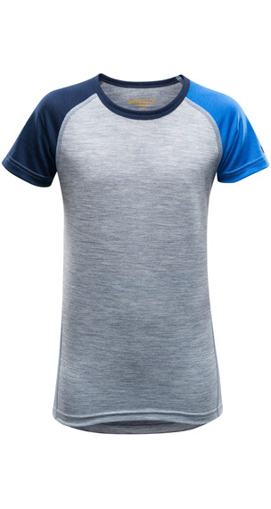 Devold Juniors Breeze T-Shirt MISTRAL